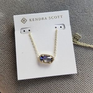 Kendra Scott Elisa Gold-Tone Pendant Necklace